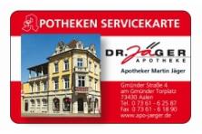 Kundenkarte Servicekarte