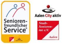 Seniorenfreundlicher Service Aalen City Aktiv  Auszeichnung